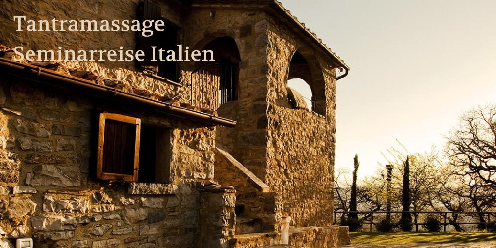 Tantramassage Seminarreise Intalien