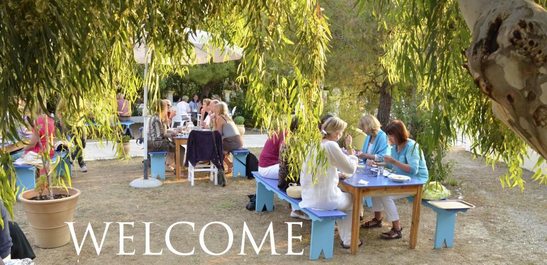 WELCOME1 Tantramassage Urlaubsseminar Korfu Alexis Zorbas Zentrum Arillas8 1